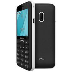 "Lubi 4 Nero / Bianco Dual Sim Display 1.77"" +Slot MicroSD con Bluetooth, Radio e Fotocamera - Italia"