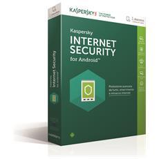 KASPERSKY - Internet Security per ANDROID 1Utente Versione Completa Lingua Italiano
