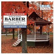 Music Of Samuel Barber (The) (2 Cd)