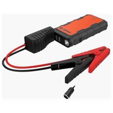 Power Bank da 12 000 mAh 2x USB / Micro-USB Colore Nero / Arancione