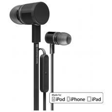 """iDX 120 iE, Stereofonico, Interno orecchio, Nero, Digitale, Cablato, 3.5 mm (1/8"""")"""