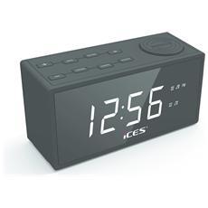 """ICR-240, Orologio, FM, PLL, LED, 3,05 cm (1.2"""") , 15,5 cm, 6 cm"""