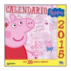 Calendario Peppa 2015. Con adesivi