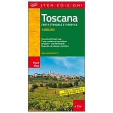 Toscana. Carta stradale e turistica 1:300.000