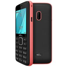 "Lubi 4 Nero / Rosa Dual Sim Display 1.77"" +Slot MicroSD con Bluetooth, Radio e Fotocamera - Italia"