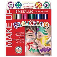 Cf6tempera Solida Make Up Metallic