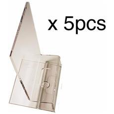 5 Support Plexiglass 80x65x115mm - Transparent