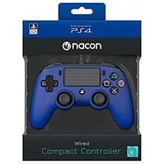 NACON Controller Wired Blu PS4