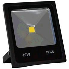 Faretto LED 30 Watt IP65 con Staffa 2550 Lumen