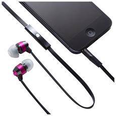"""GV-EB10-PK, Stereofonico, Interno orecchio, Rosa, Cablato, 3.5 mm (1/8"""") , Intraurale"""