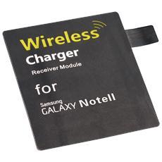 Adattatore Qi per Samsung Note 2, per stazione di ricarica Wireless