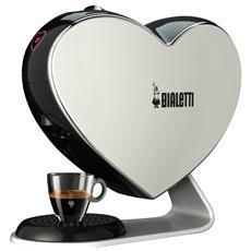 BIALETTI - CF80 Cuore Bianco Macchina Da Caffè a Capsule...