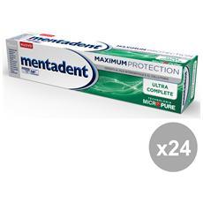Set 24 Dentifricio Maximum Protezione Ultra Complete 75 Ml. Prodotti Per Il Viso