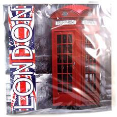 tela 'so british' telefono (20x20 cm) - [ n4179]