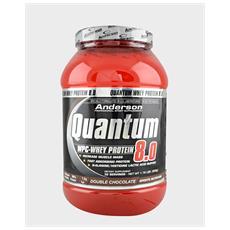 Quantum Wpc 8.0 800g (gusto Fragola) Whey Protein Proteina Siero Del Latte