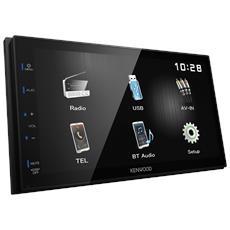 """Monitor Mechaless da 6.8"""" con Bluetooth integrato Radio AM / FM Potenza 4 x 50 Watt Formato 2 DIN"""
