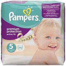 Baby-Dry 4015400566823, Universale, Pannolino usa e getta, 5+, Verde, Velcro, Busta di plastica