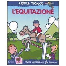 L'equitazione. Con adesivi