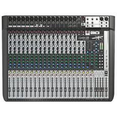 Signature 22 Mtk Mixer 22 Canali Multitraccia