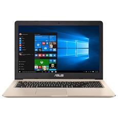 "Notebook VivoBook Pro 15 N580VD Monitor 15.6"" 4K UHD Intel Core i7-7700HQ Quad Core Ram 16GB Hard Disk 1TB SSD 512GB Nvidia GeForce GTX 1050 4GB 2xUSB 3.0 Windows 10 Home"