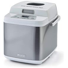 Macchina Per Pane E Dolci Capacità 0.75 Kg Potenza 500 Watt Colore Bianco /  Silver