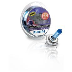 Lamp. 24v - H4 Masterduty Blu