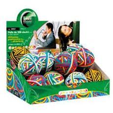 display rubberball da 15 gomitoli di elastici