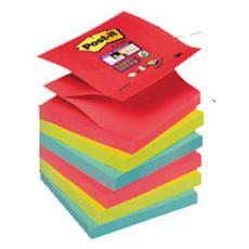 confezione da 6 pezzi - blocco 90foglietti post-it®super sticky z-notes 76x76mm r330-6ss-marrakesh