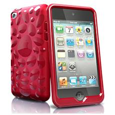 pebble f / iPod Touch 4 Cover Rosso