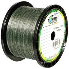 Trecciato Power Pro 0,36 Mm Moss Green 1370 M Unica Grigio