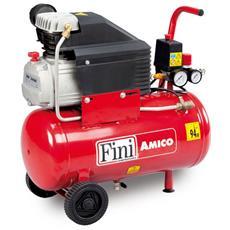 Compressore Aria 24 lt Carrellato AMICO 25/2400