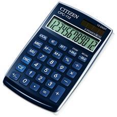 Calcolatrice tascabile CPC112 Citizen - blu - Z300113