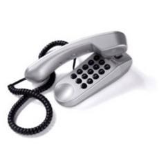 Telefono Bistandard da Tavolo e Parete - Mini Silver