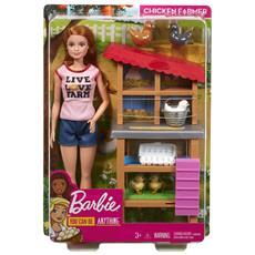 FXP15 Barbie - Carriere: Allevatrice di polli