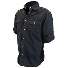 Jack Daniel's - Workershirt (T-shirt Unisex Manica Lunga Tg. XL)
