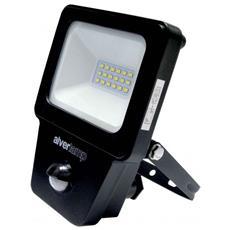 Proiettore Led Pro 10w Con Sensore Pir 4000k 800 Lumen Ip54
