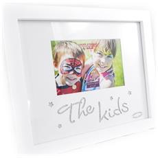 cornici portafoto 'the kids' bianco - [ i0384]