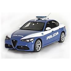 Alfa Romeo Giulia Polizia 2016 Security Team 1:24 Die Cast