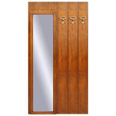 Composizione mobili ingresso a moduli - H200 - L 100 cm