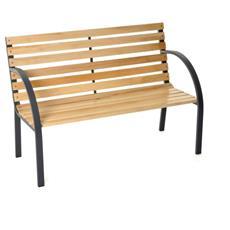 Panchina per esterni in Ferro verniciata 120 x 62 x 82