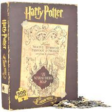 Harry Potter - Marauders Map (Puzzle 500 Pz)