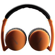 Cuffie Apora Bluetooth Colore Arancio