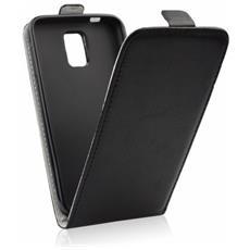 Cover Slim Flexy Kabura Flip Per Iphone 7 Chiusura A Portafogli Nero