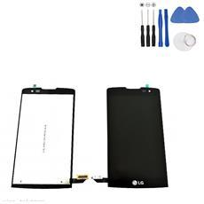 Ricambio Lcd Display + Touch Screen Unit Nero Originale Per Lg Leon H320 H340n