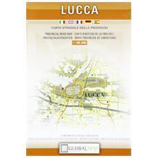 Lucca. Carta della provincia