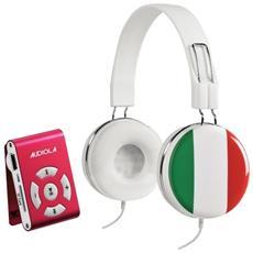 Sdb8811cf It Lettore Mp3 Microsd 8gb Con Cuffie Stereo Controllo Volume