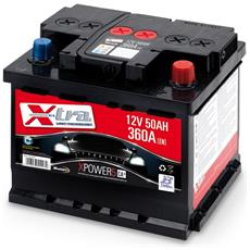 Batteria Auto - Accumulatore 12v 50 Ah   Pronta All'uso