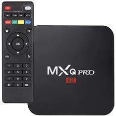 Mxq Pro, Smart Tv Box Di Nuova Generazione Con Processore Cpu Quad-core, Amlogic S905x, Cortex A53, Gpu Penta-core, Frequenza Fino A 2.4 Ghz. Android 6.0. Sfoglia Tutti I Siti Web Di Video, Supporta Twitter, Netflix, Facebook, Hulu, Youtube, Skype Ecc.