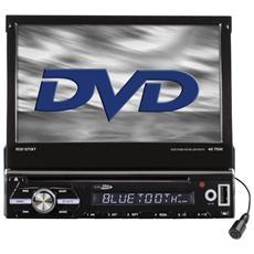 """Sintolettore DVD / USB / SD RDD571BT con Monitor Estraibile 7"""" Potenza 4 x 75 W Supporto CD / DVD / VCD / MP3 / MPEG4 / WMA / JPEG Nero"""