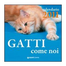 Gatti come noi. Calendario 2011